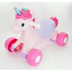 LIGHT N' SOUNDS DELUXE UNICORN RIDE-ON