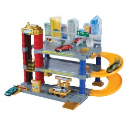 DYNA CITY 2-LEVEL CITY PARKING GARAGE WITH 1 CAR
