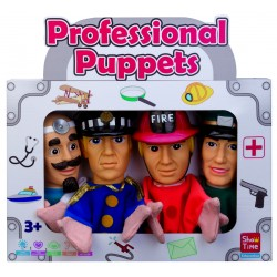 4 PIECES LARGE HAND PUPPET