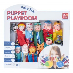 12 PIECES FINGER PUPPET PLAYSET