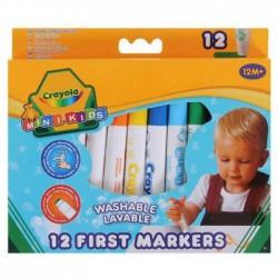 12 MINI KIDS FIRST MARKERS