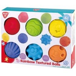 RAINBOW TEXTURED BALLS