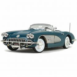 1958 Corvette - Blue 1:18 Scale