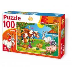 PUZZLE 100 PCS ANIMALS