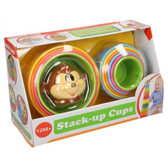 MONKEY STACKING CUPS