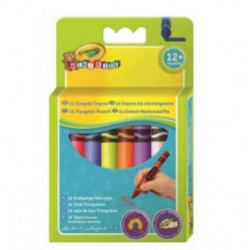 16 Triangular Crayons
