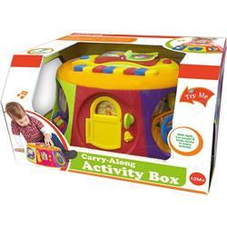 CARRY ALONG ACTIVITY BOX