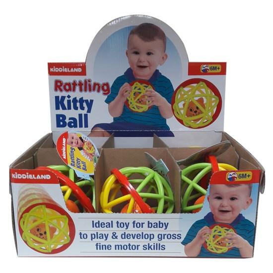 RATTLING KITTY BALL