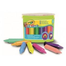 24 Mini Kids Jumbo Crayons